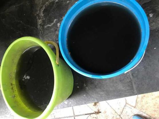 Acqua piovana nera in Amazzonia