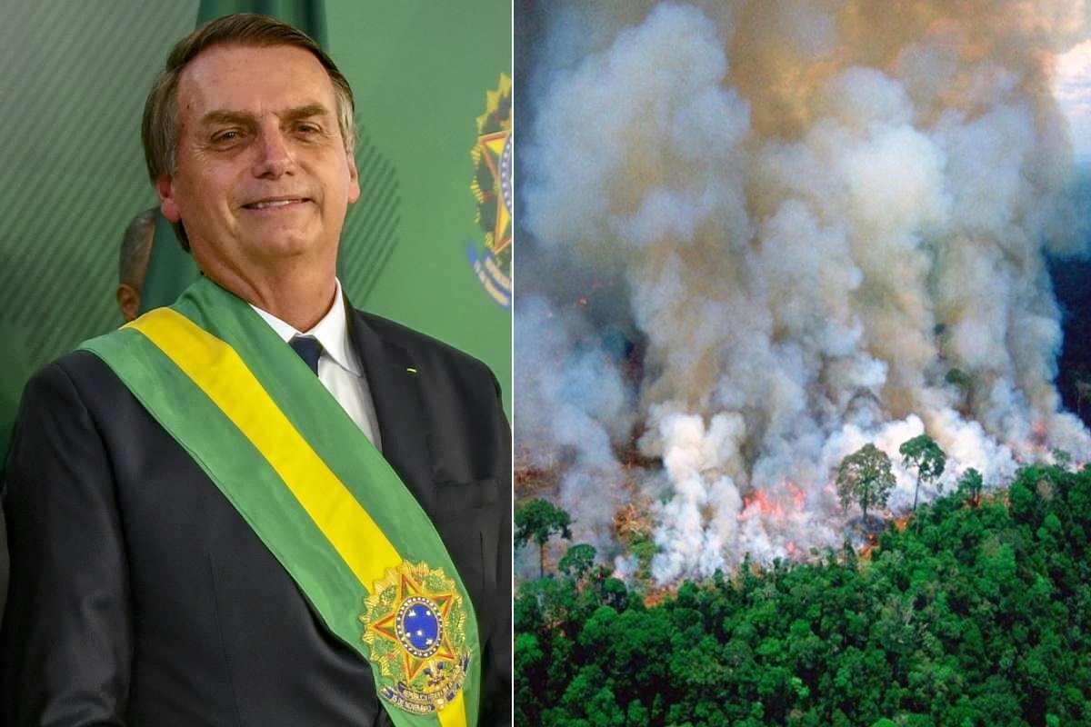 Bolsonaro incendi Amazzonia