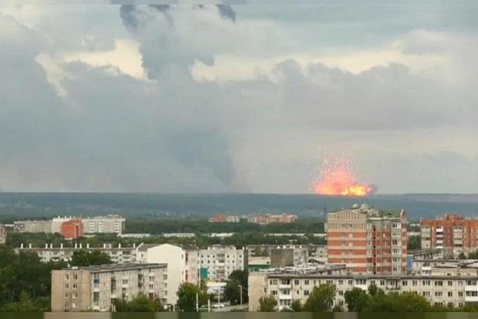 Esplosione in Russia
