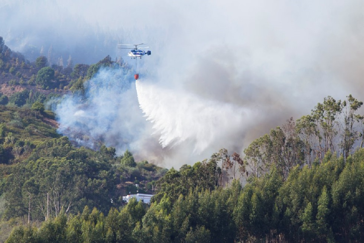 Incendio a Gran Canaria