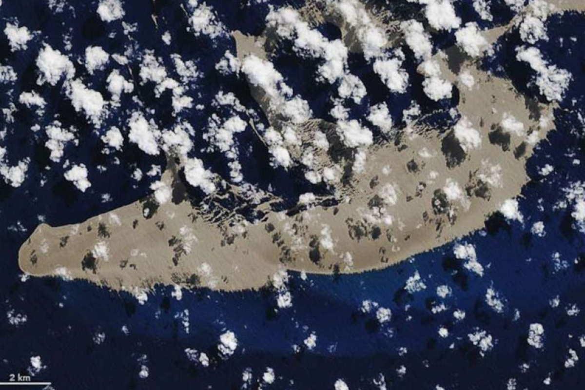 isola pomice barriera corallina