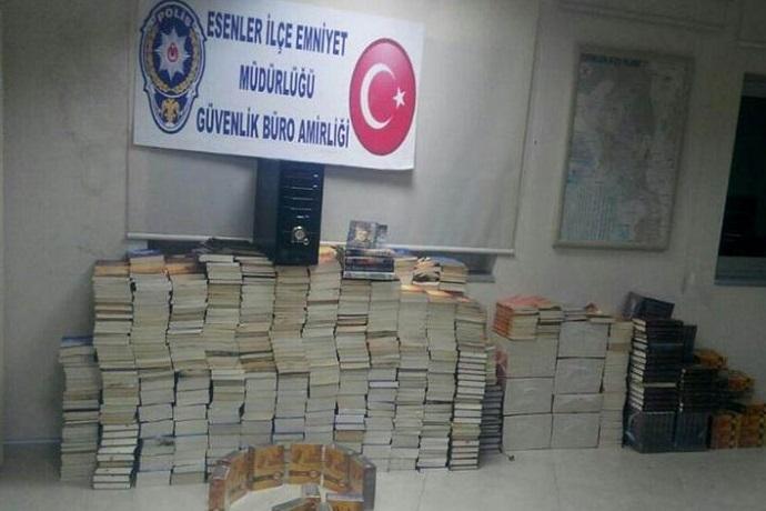 Libri turchi eliminati dal governo