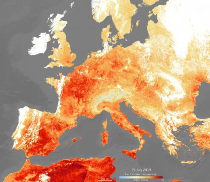 Luglio 2019 è stato il mese più caldo di sempre nel mondo
