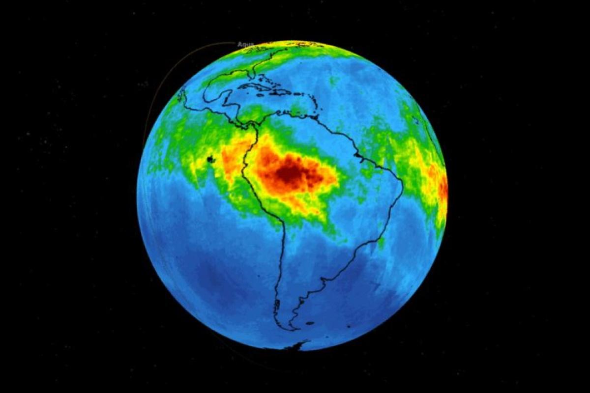 Monossido di carbonio Amazzonia
