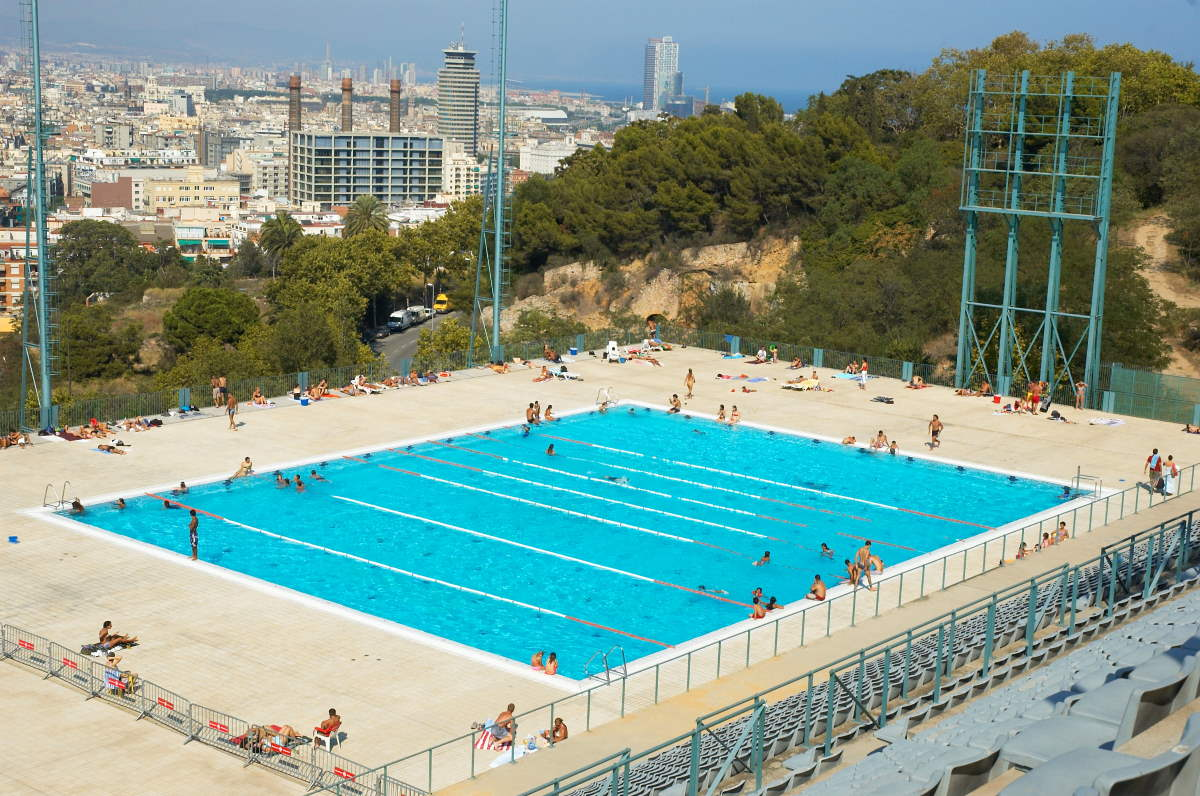 Barcelona city pool