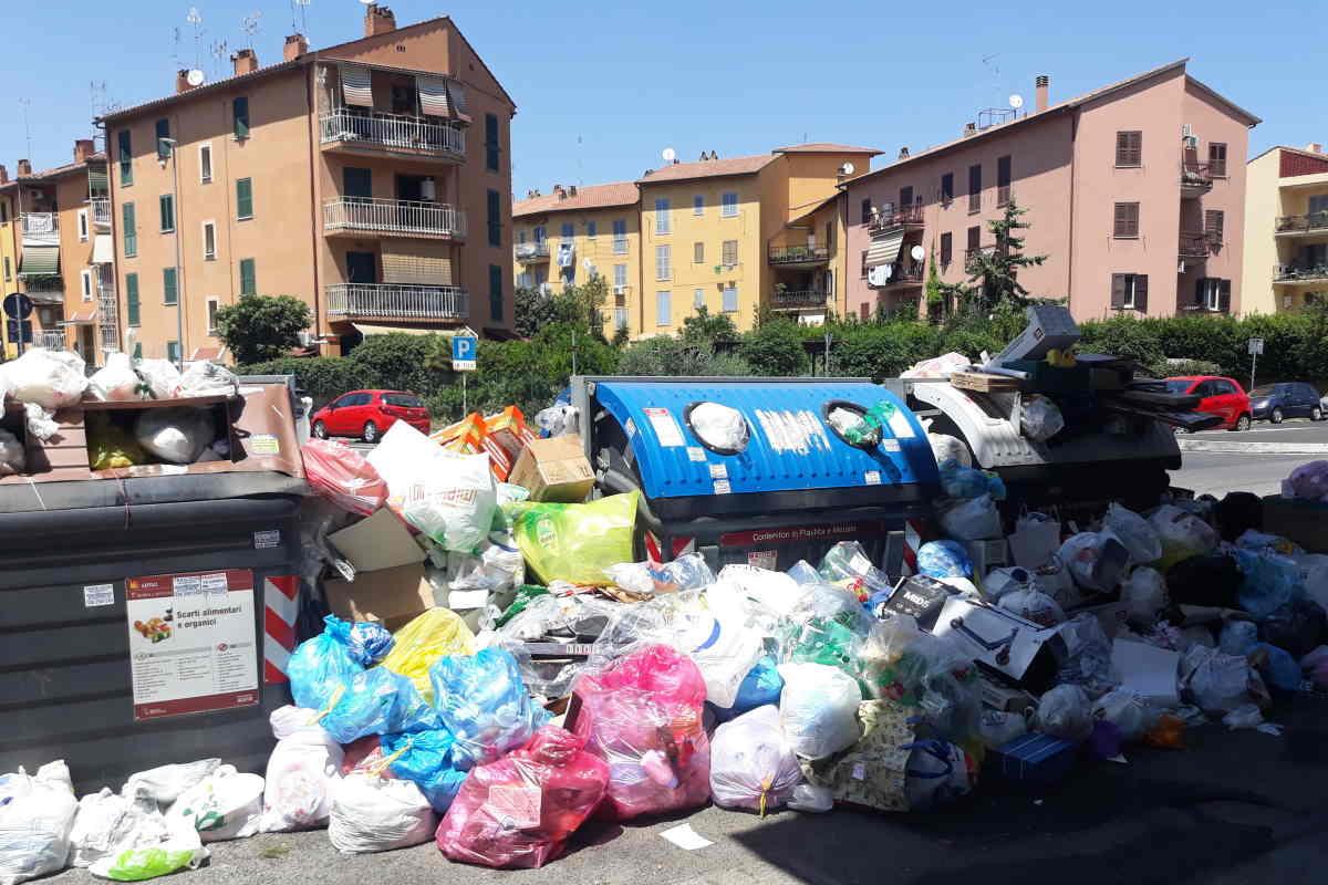 rifiuti roma spazio