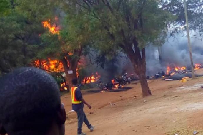 Tanzania, esplosione