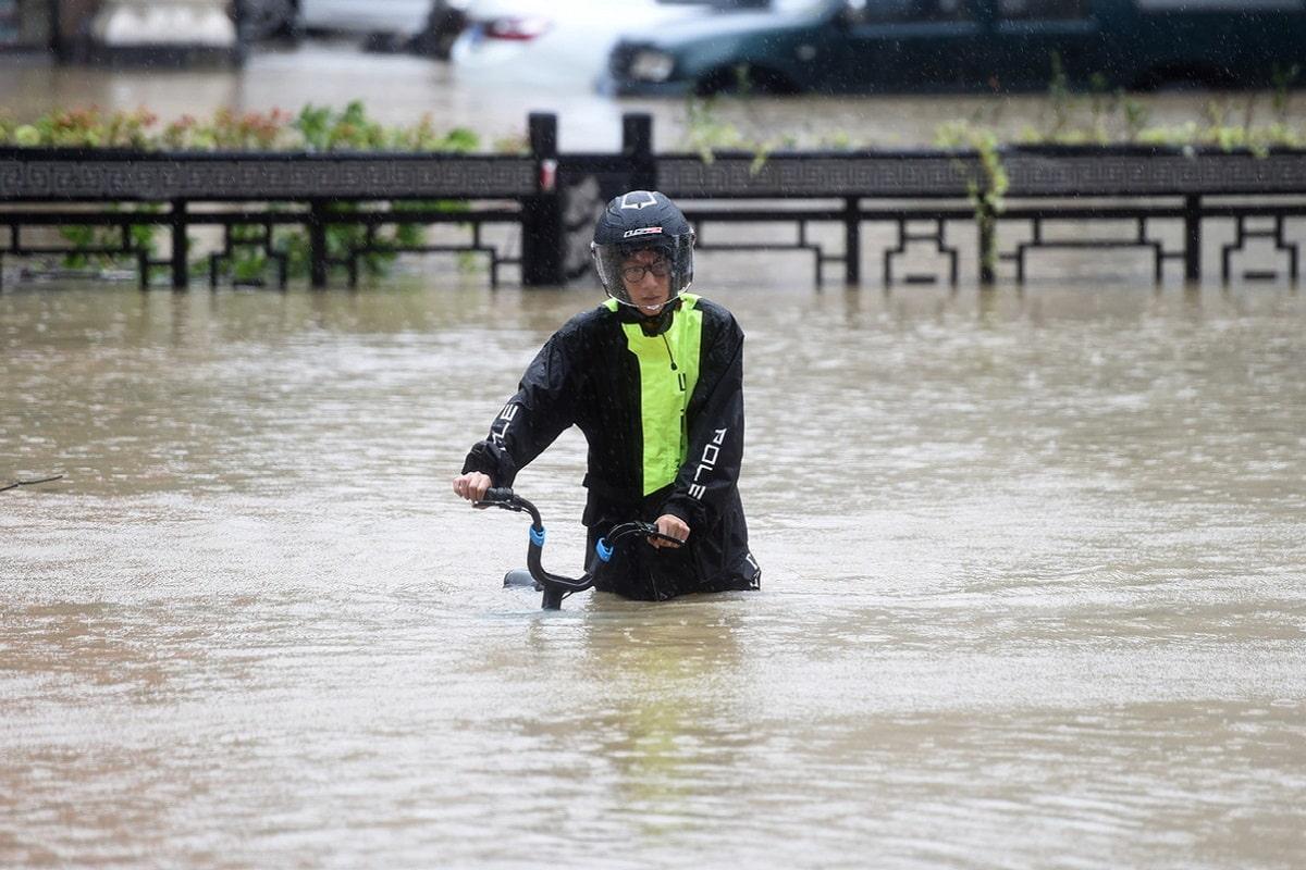Tifone Lekima in Cina