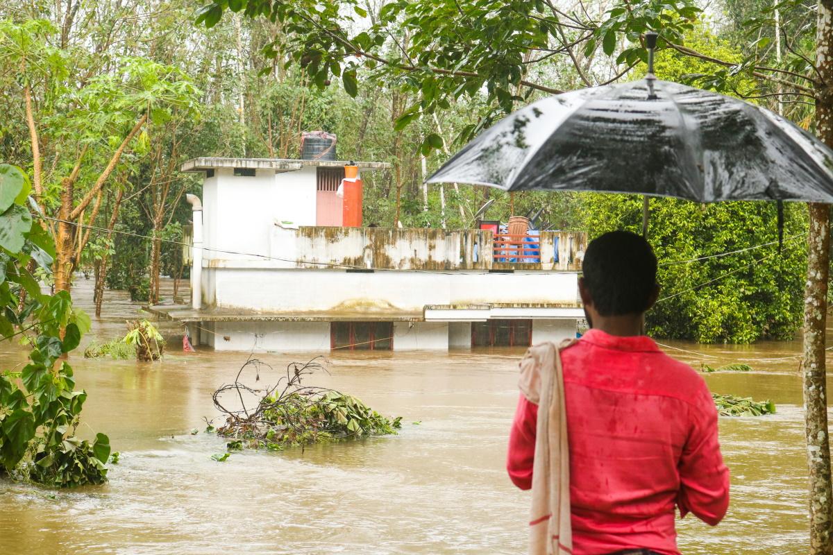 Alluvione India
