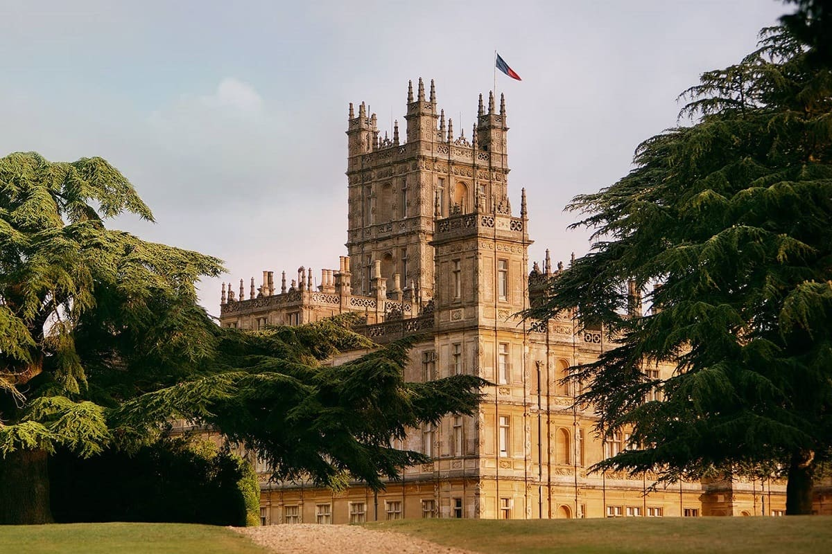 Castello Downton Abbey