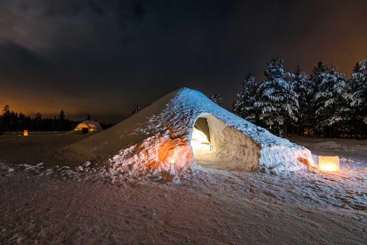igloo airbnb