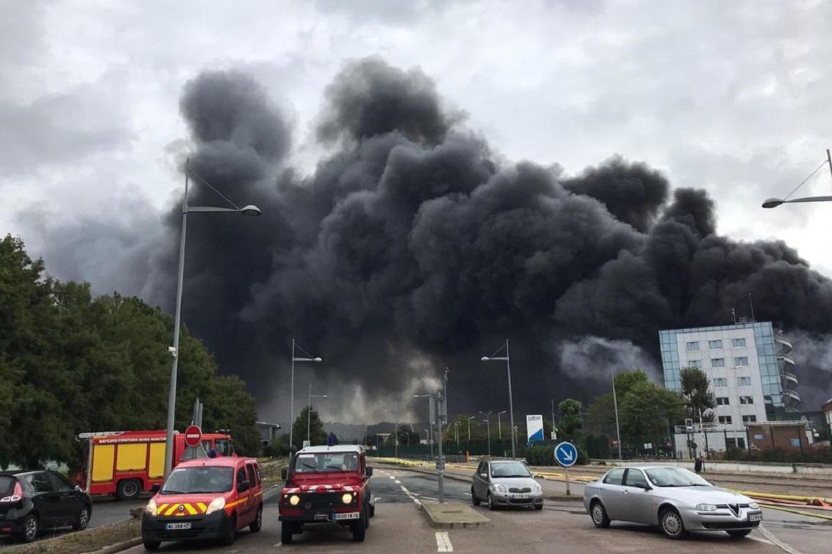 Incendio in Francia
