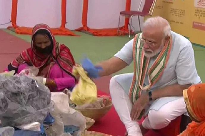 India dice no alla plastica monouso