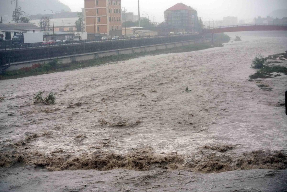 Pioggia Genova