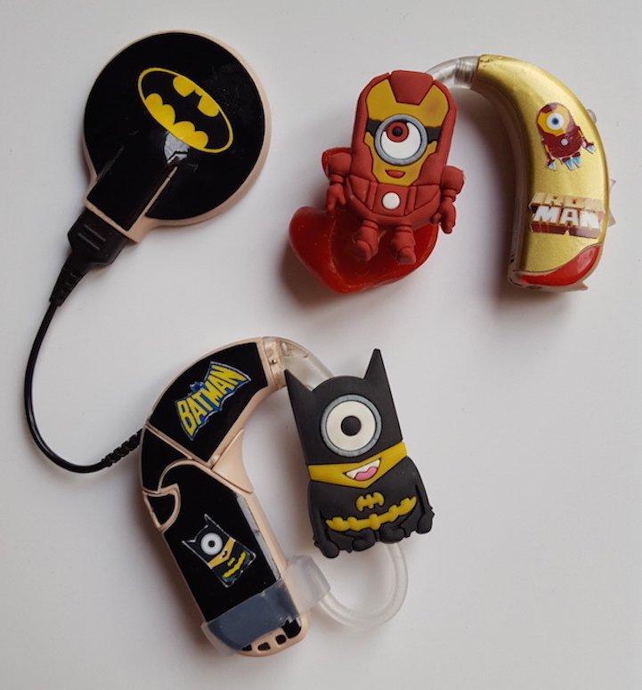 Dispositivi acustici con Batman