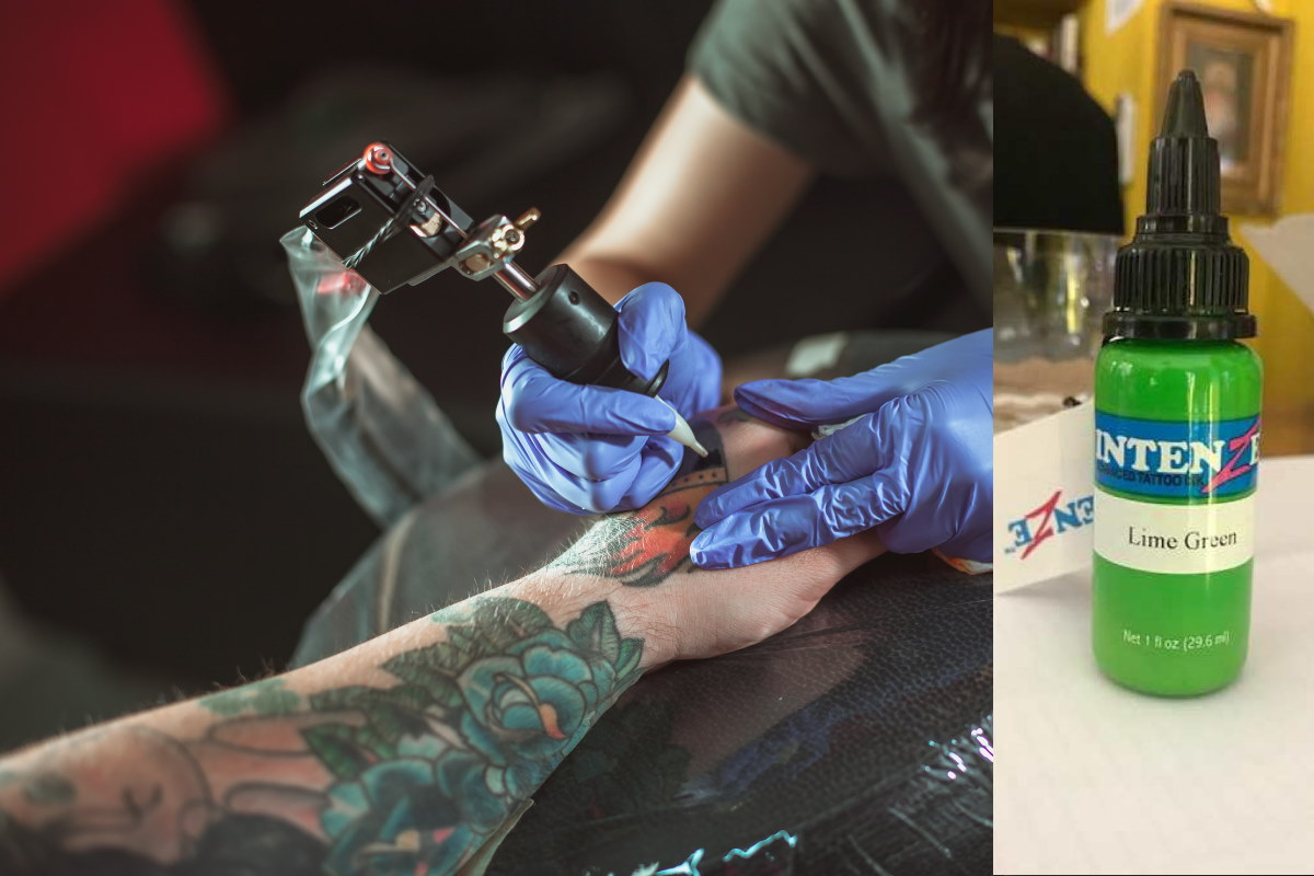 inchiostro tatuaggi ritirato