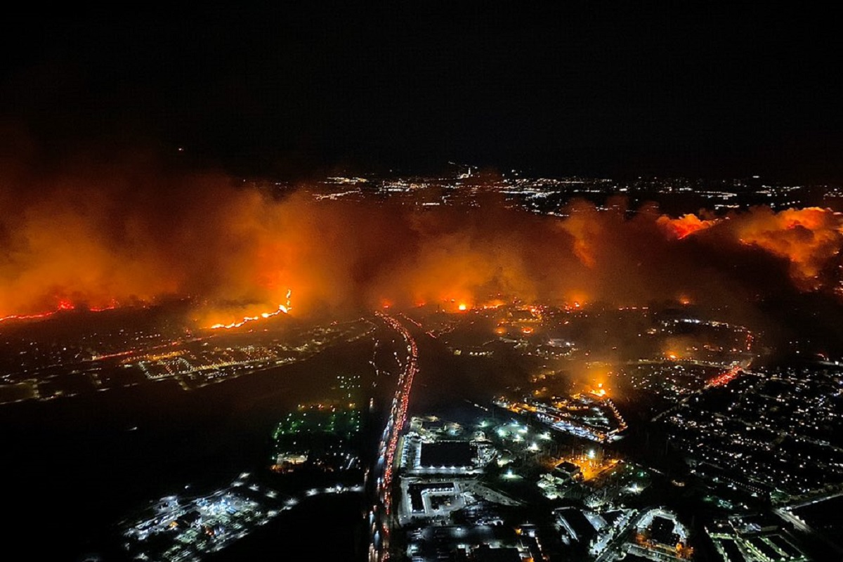Los Angeles incendio
