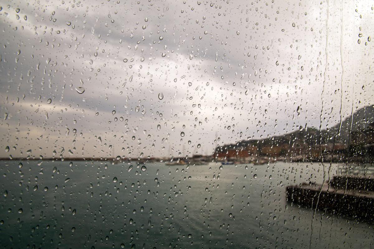 pioggia liguria