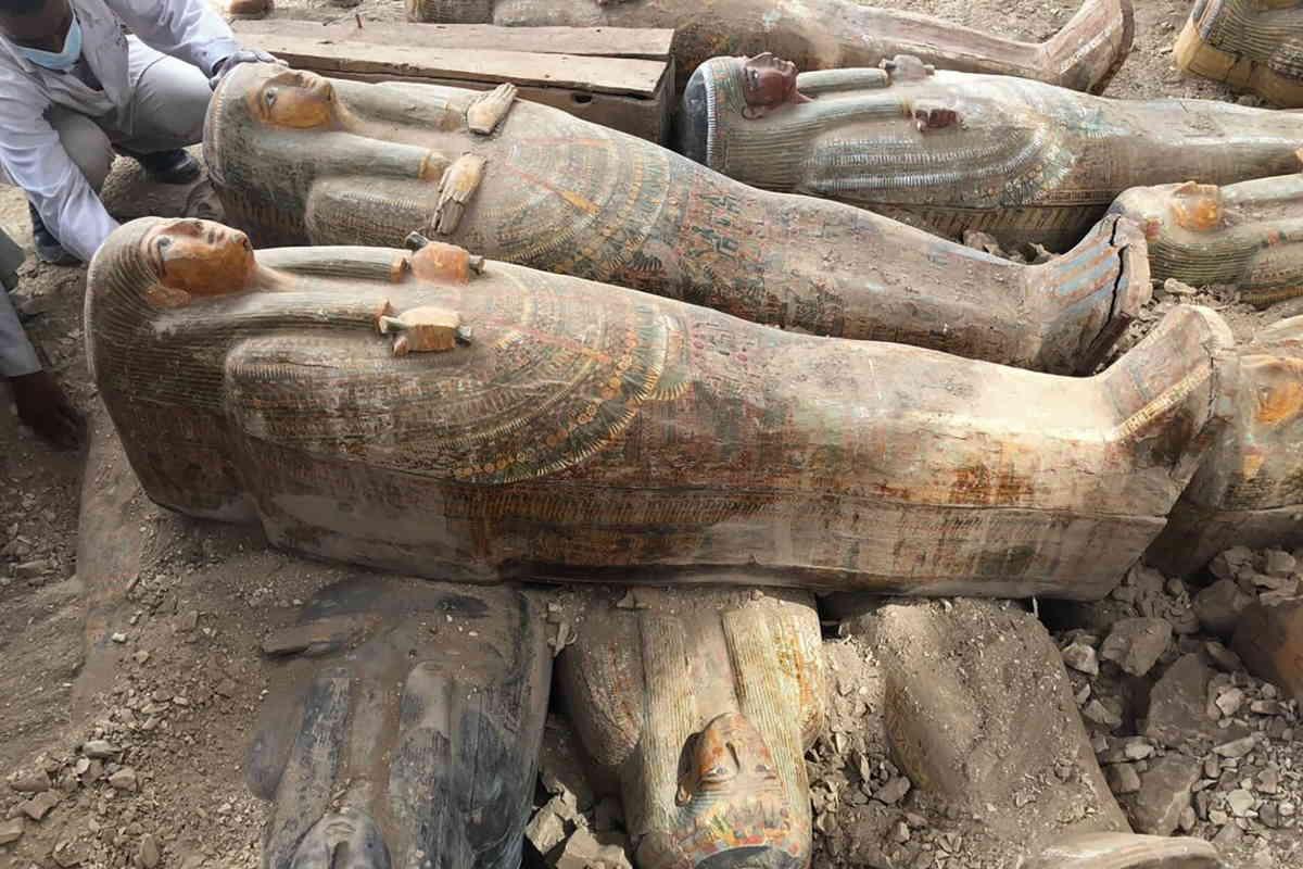 tombe antiche egitto luxor