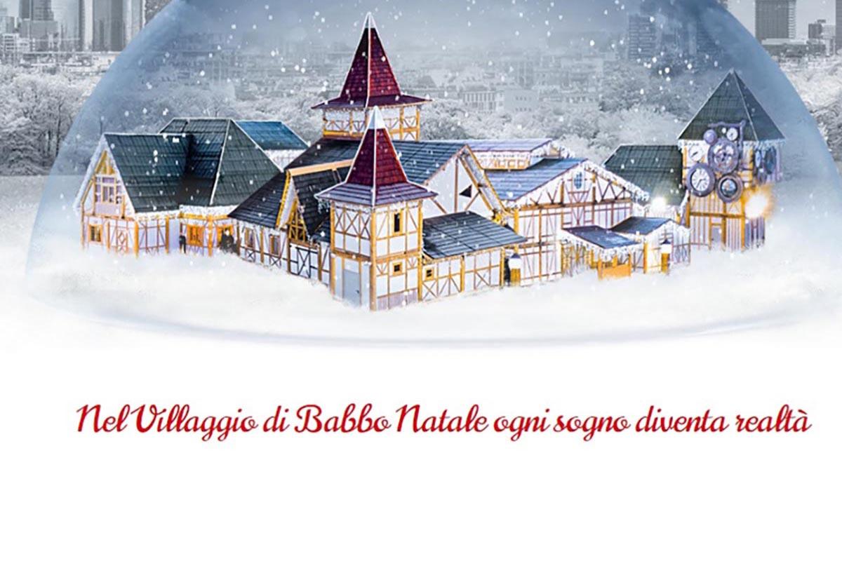 Villaggi Natale 2019.Il Villaggio Di Babbo Natale Piu Grande D Italia Aprira A