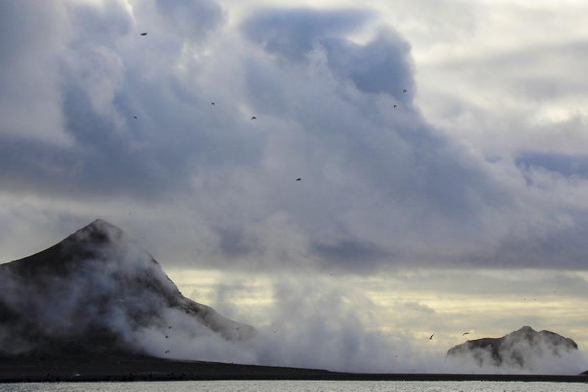 vulcano eruzione Bogoslof