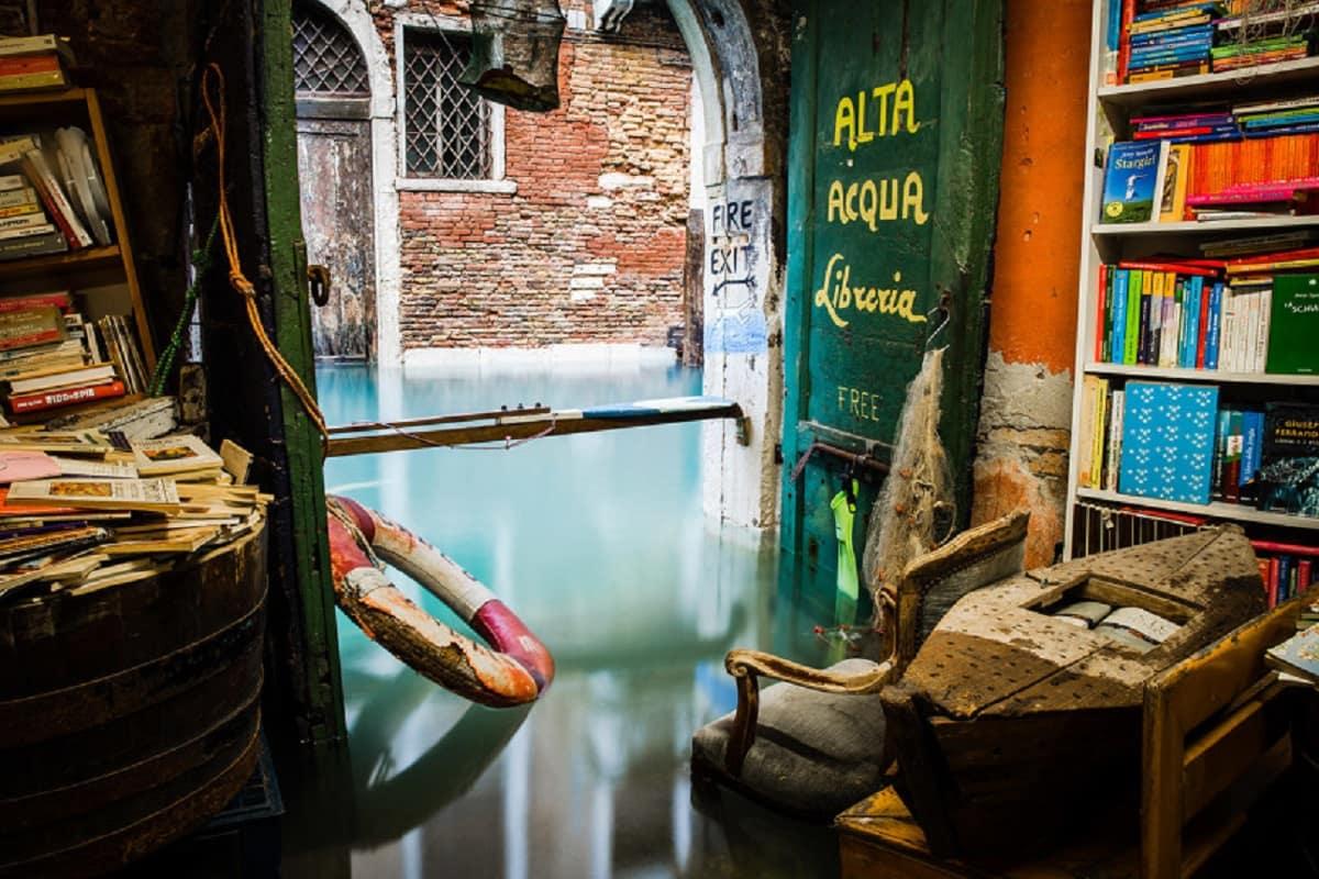 Libreria venezia sommersa