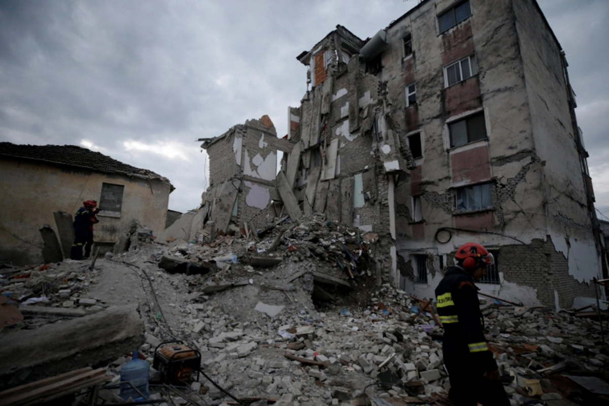 albania terremoto
