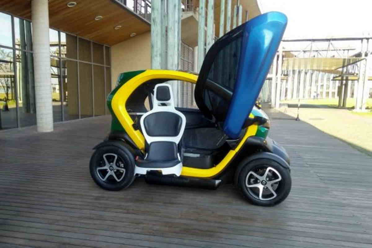 auto elettrica disabili