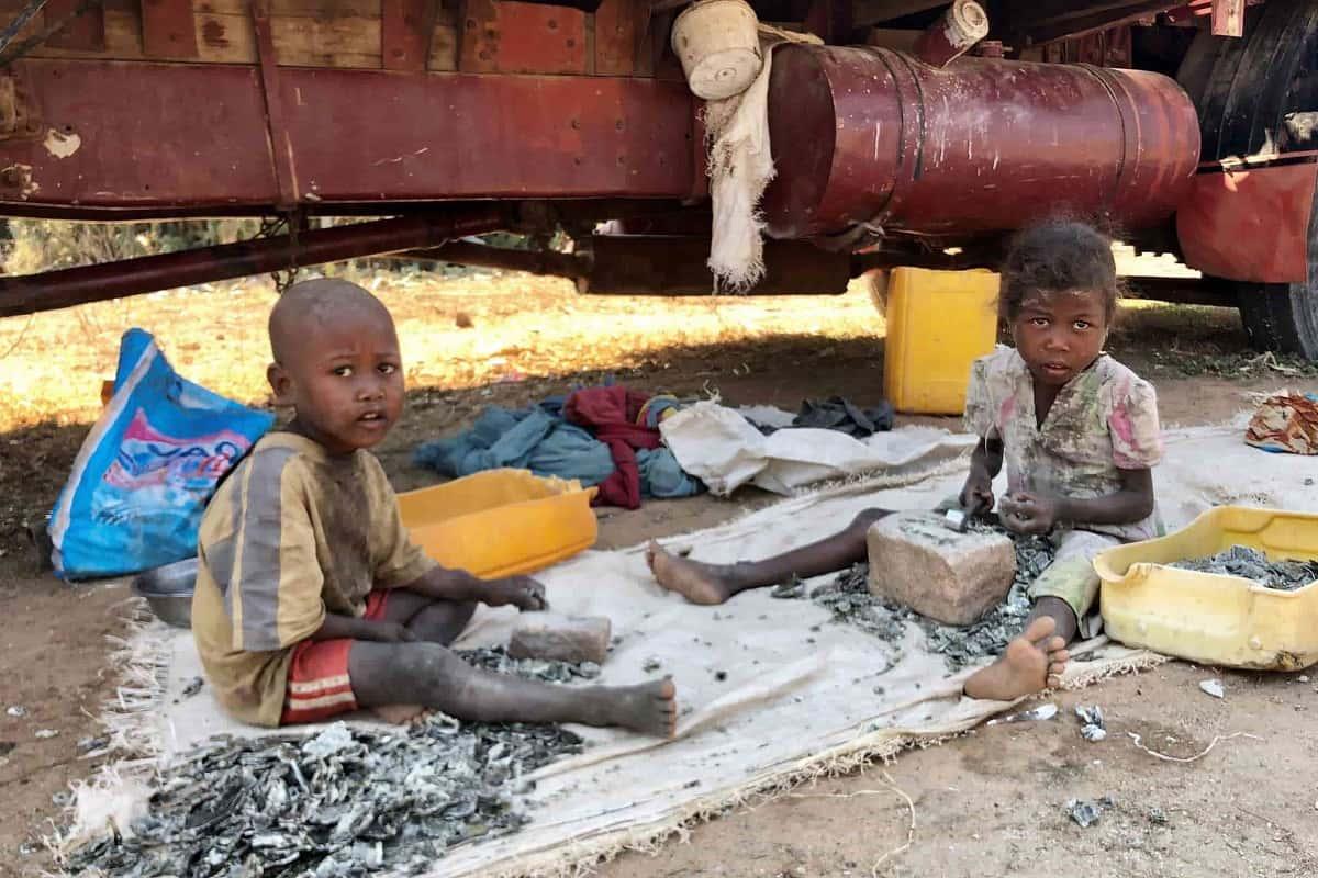 Bambini sfruttati Madagascar