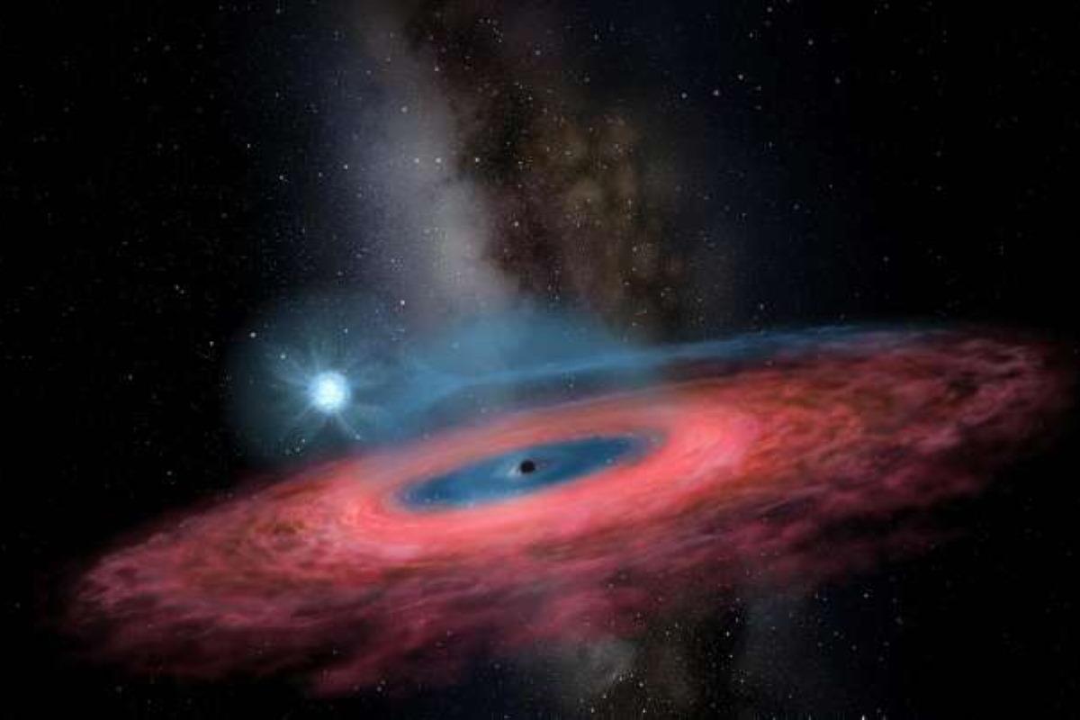 buco nero via lattea 70 soli