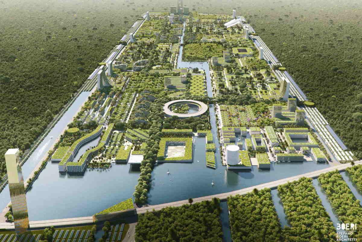 città foresta cancun boeri