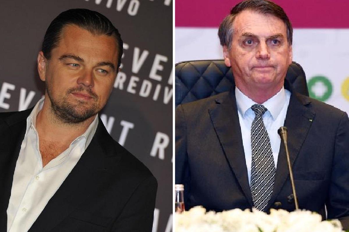 Leonardo Di Caprio e Bolsonaro