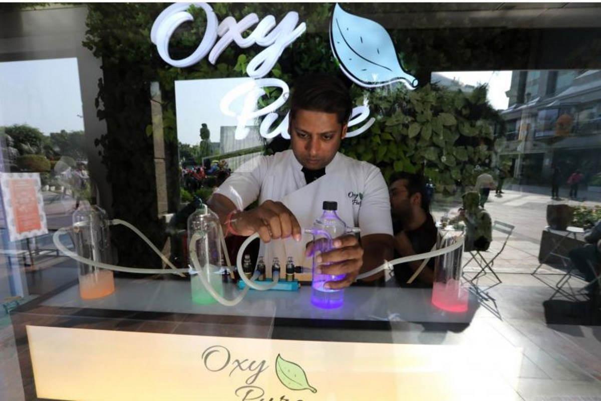 oxygen bar india