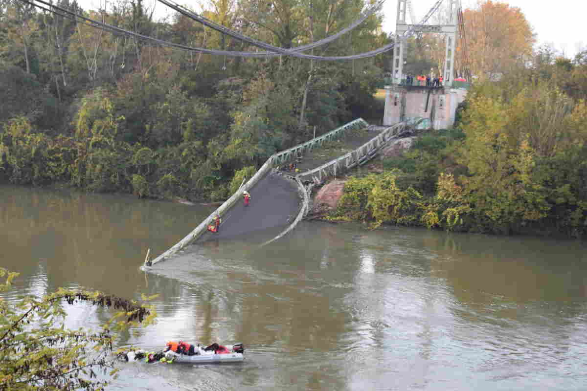 crollo ponte francia