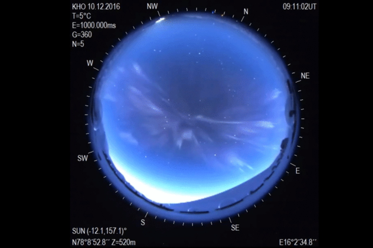 aurora boreale anomala