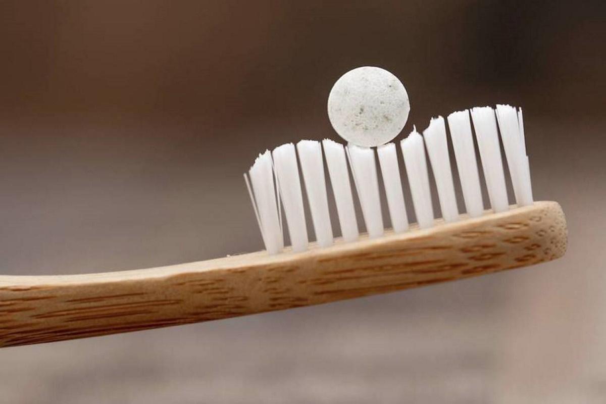 Dentifricio in compresse