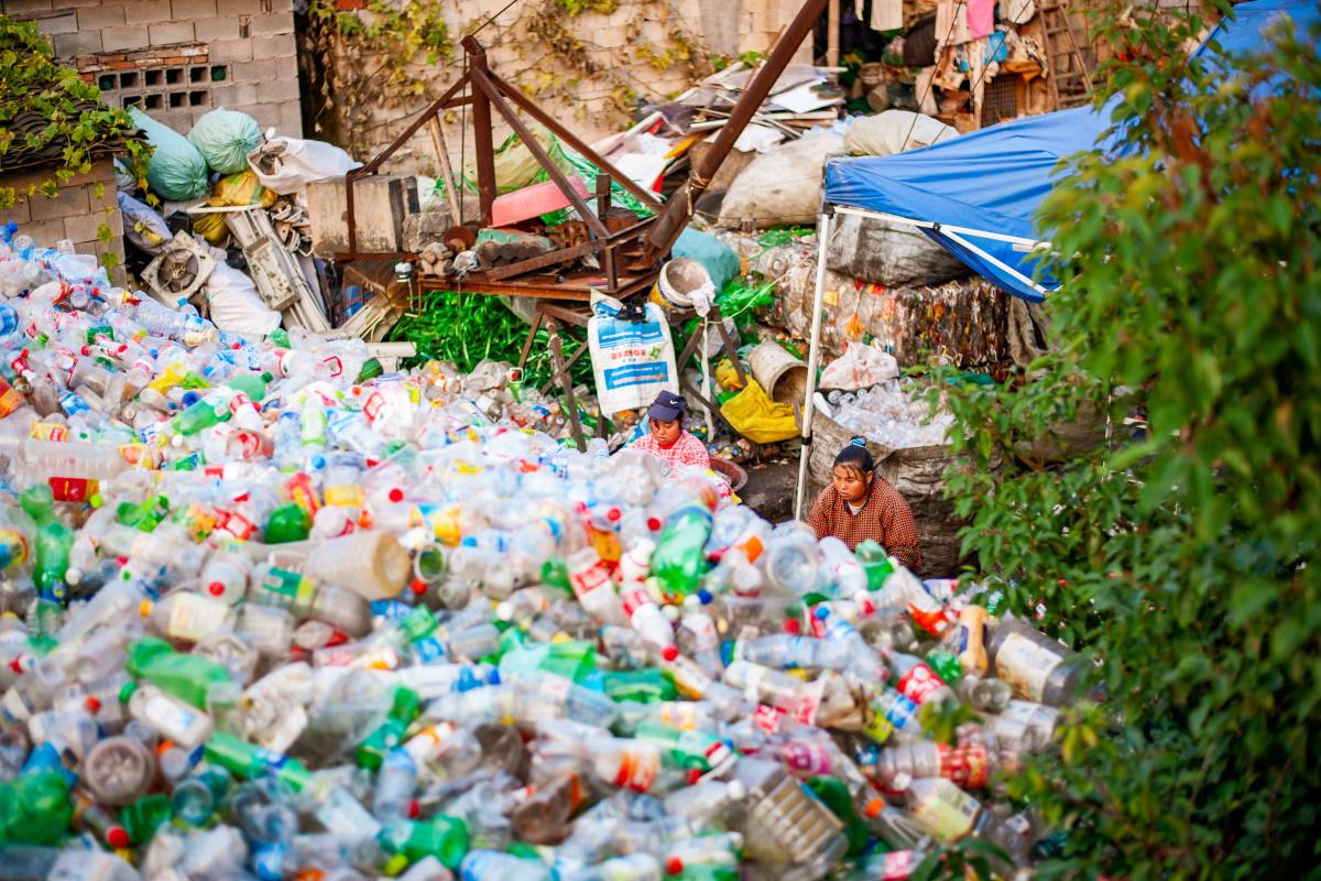 Plastica Cina