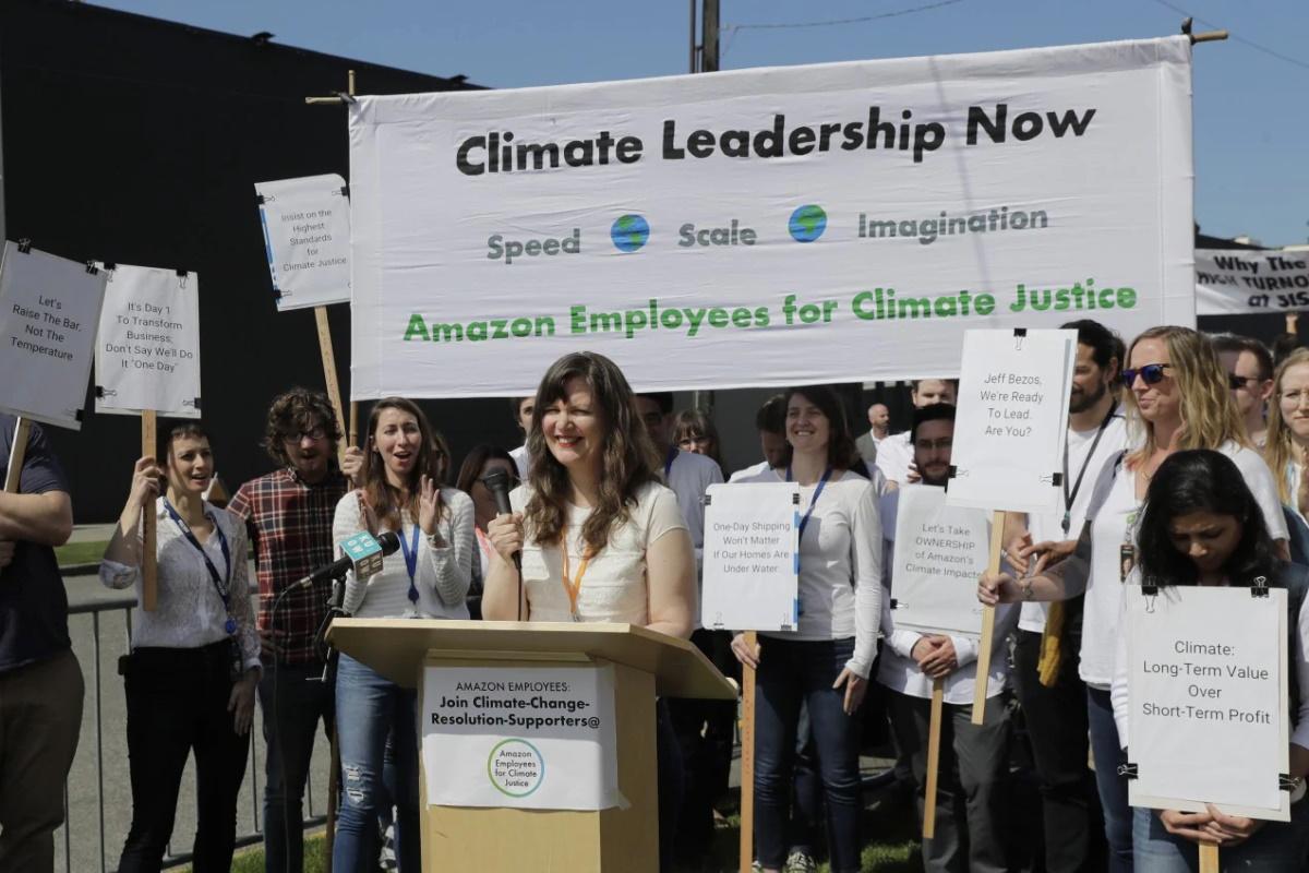 Protesta dipendenti Amazon