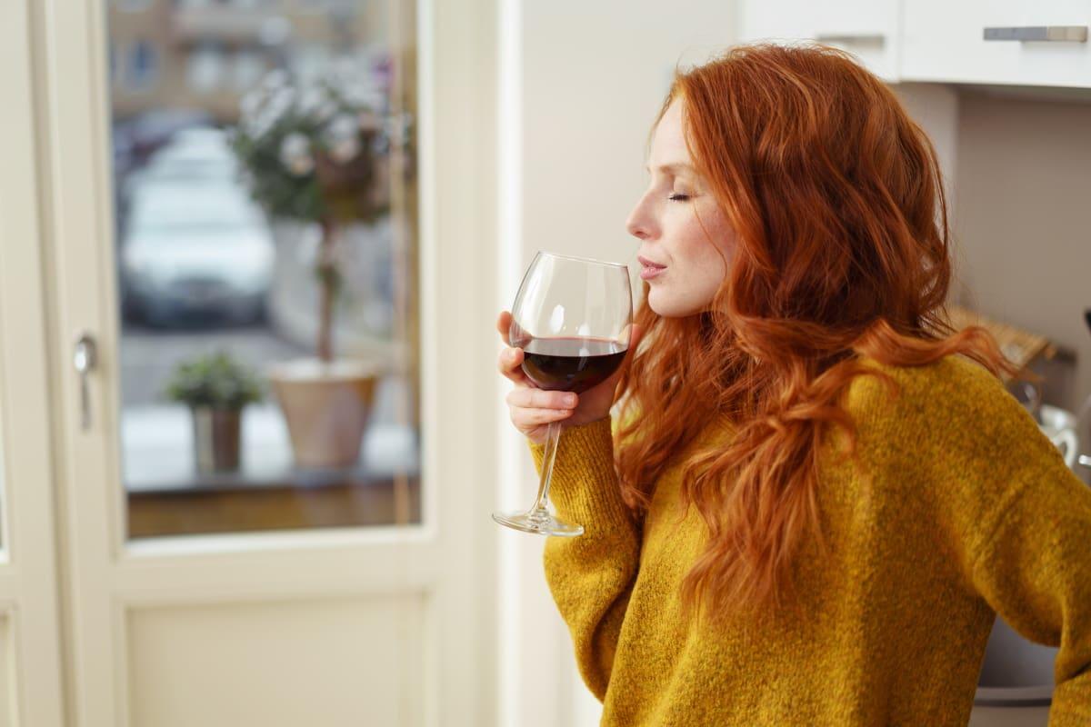 bere vino stimola cervello