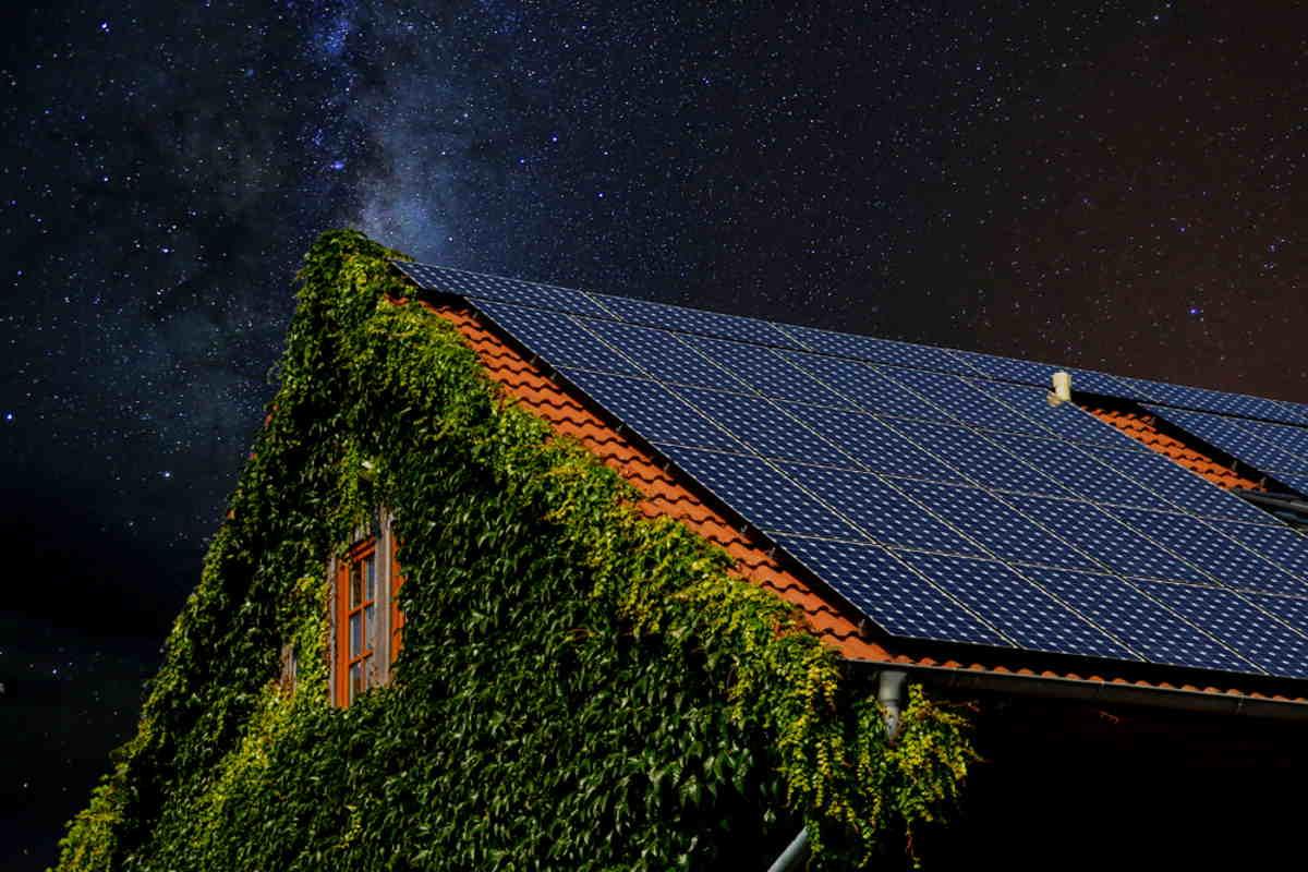 celle solari notte