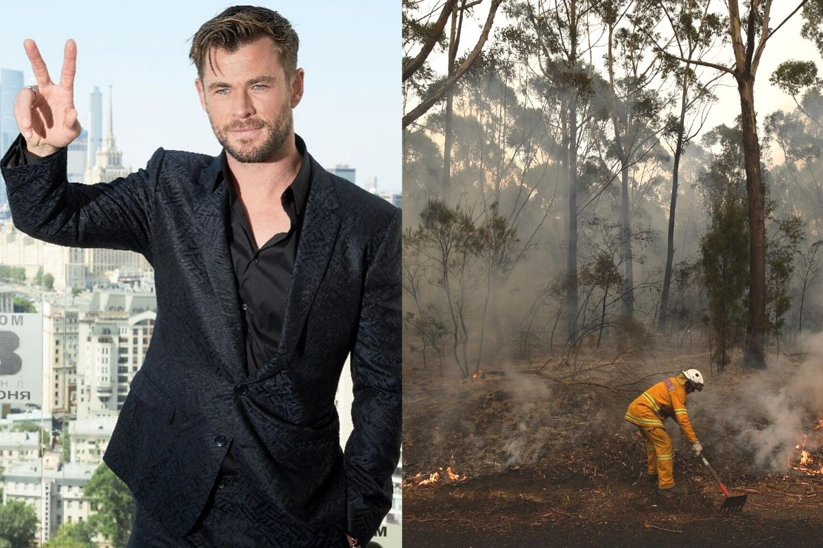 incendi australia chris hemsworth