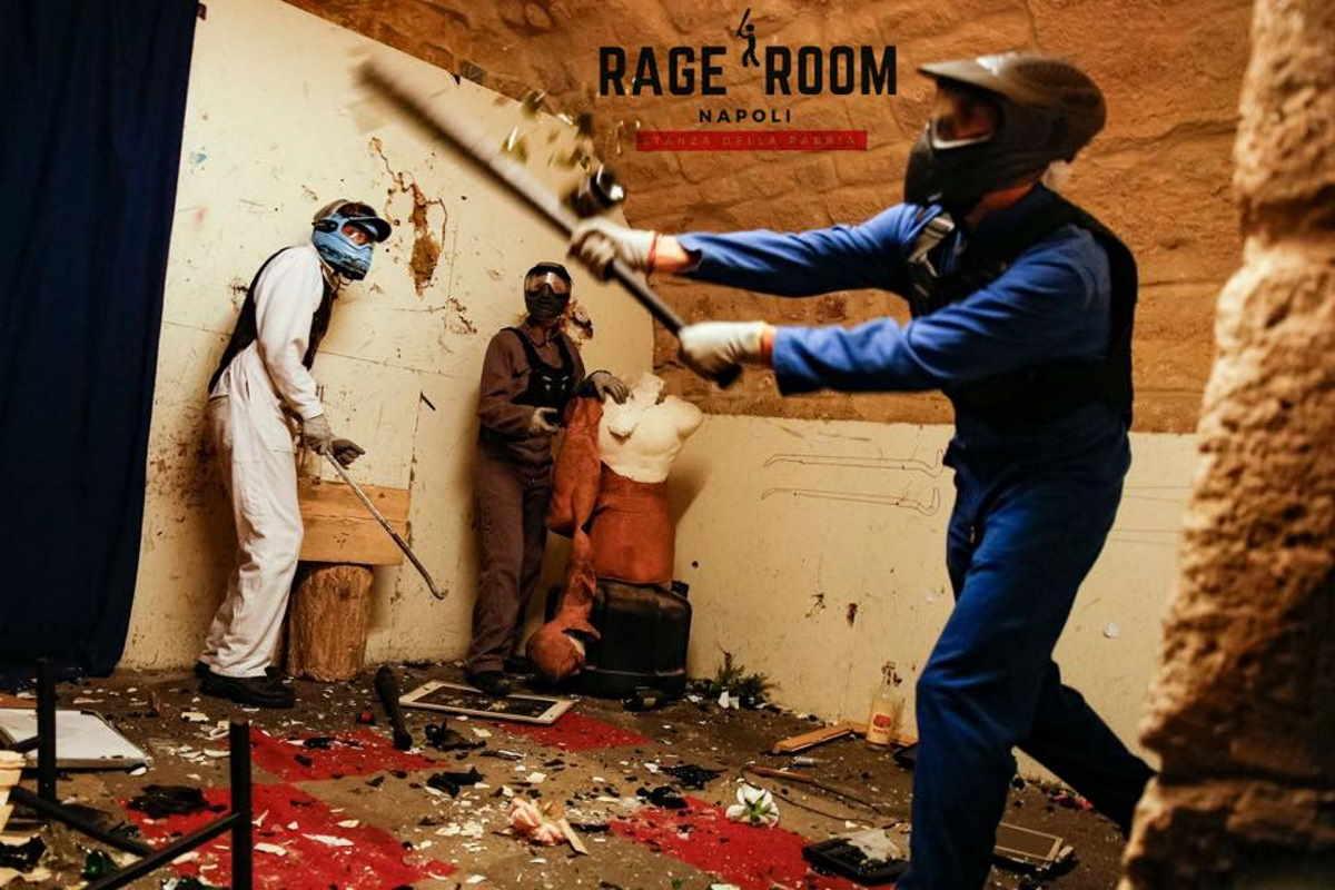 rage room napoli