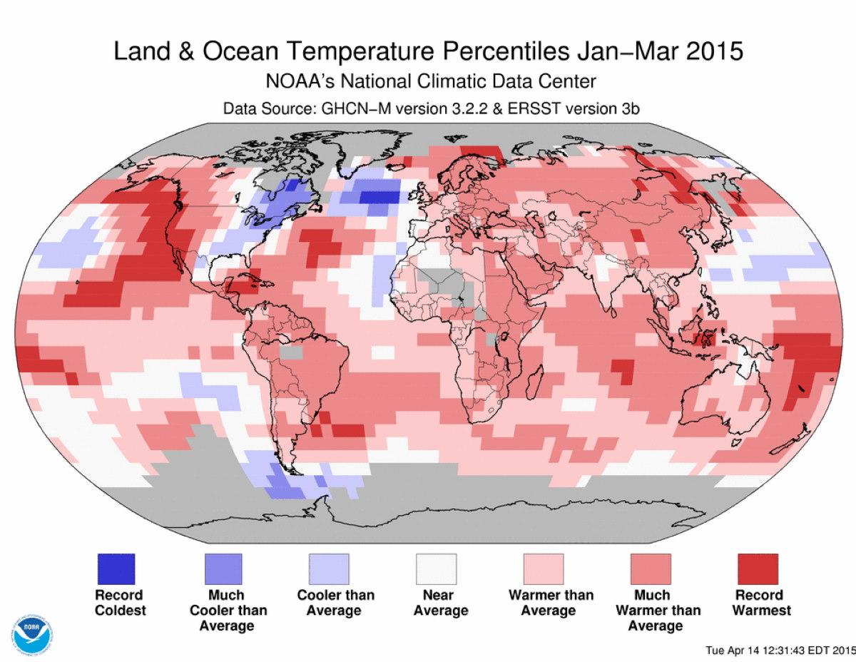 140 anni riscaldamento globale nasa
