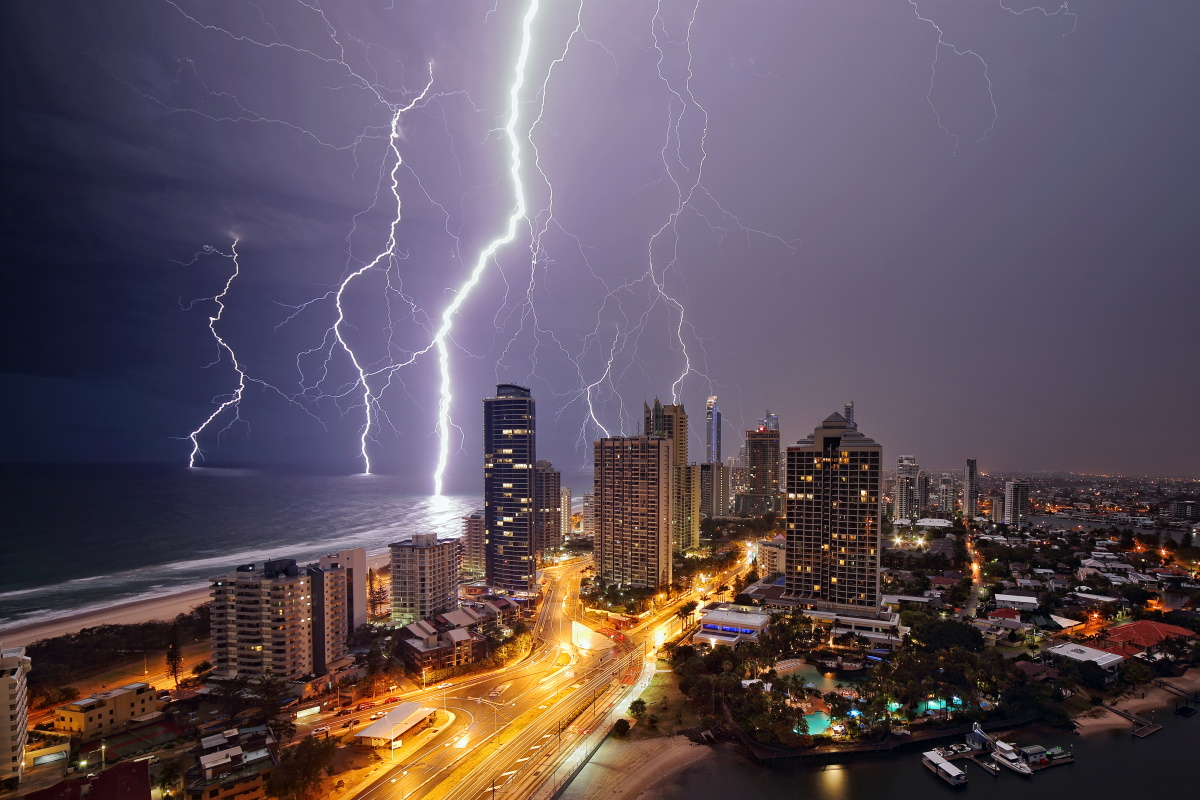 pioggia australia