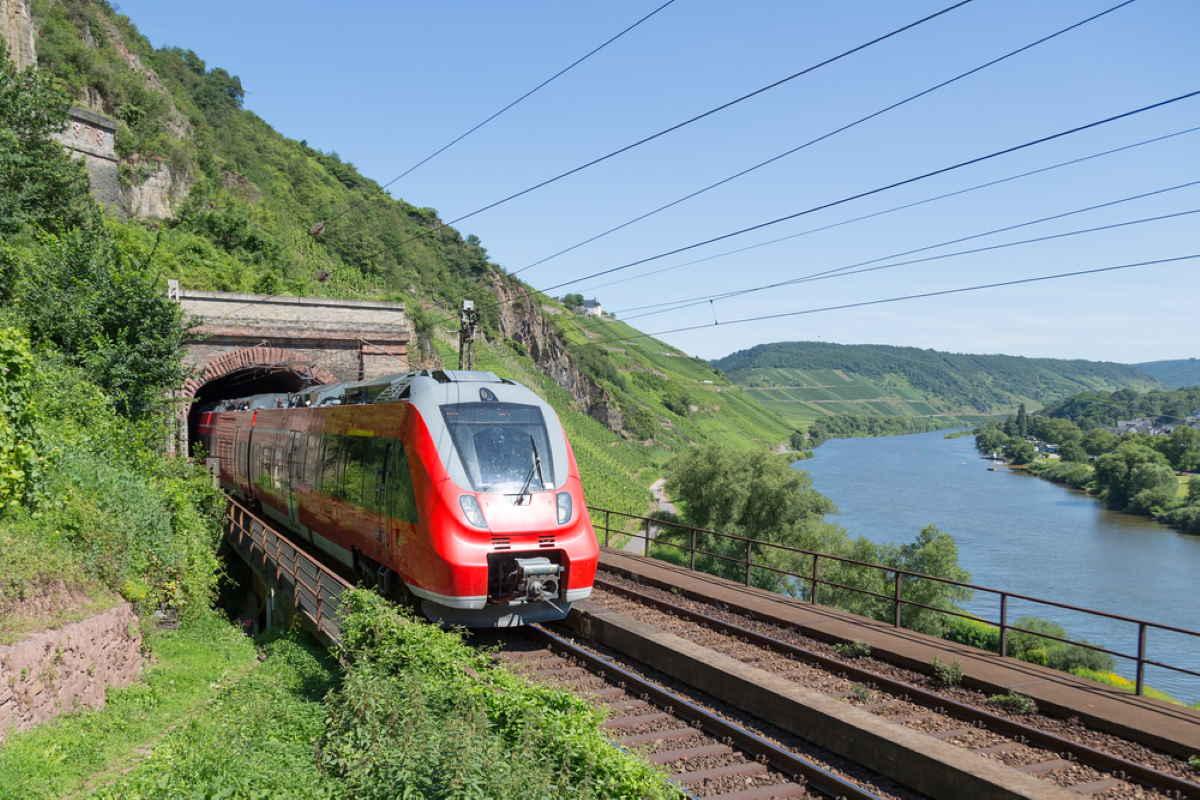 treno germania
