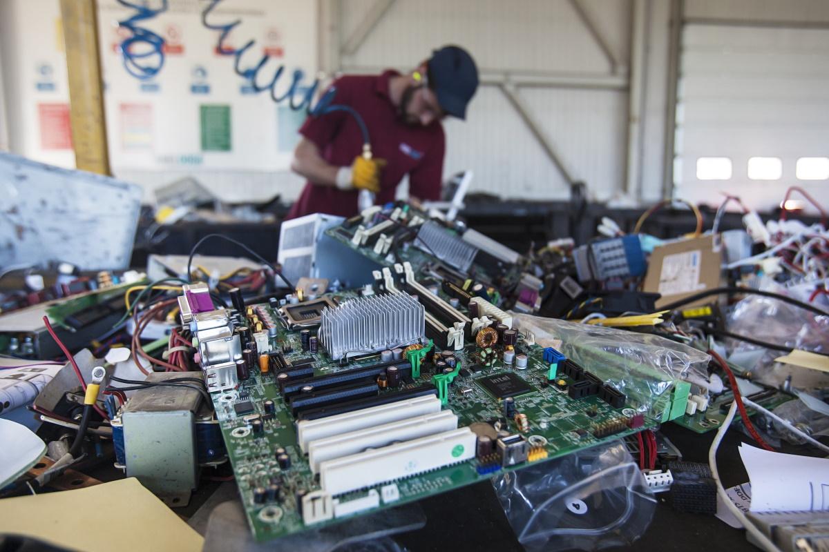 Recupero rifiuti elettronicic