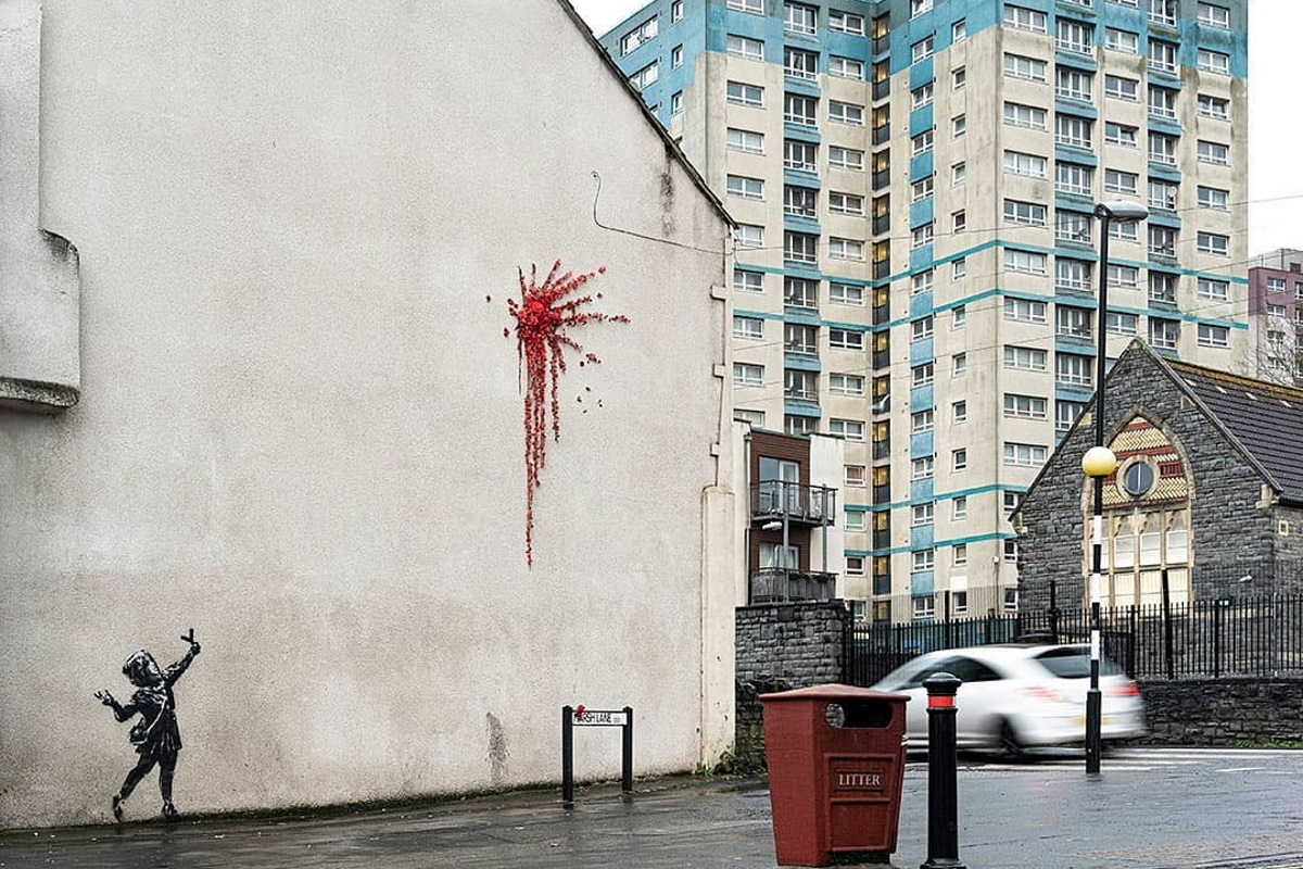 banksy san valentino