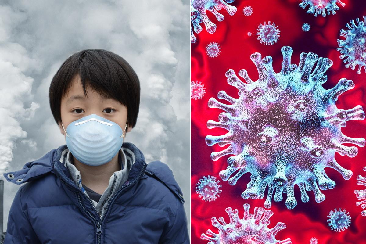 coronavirus inquinamento