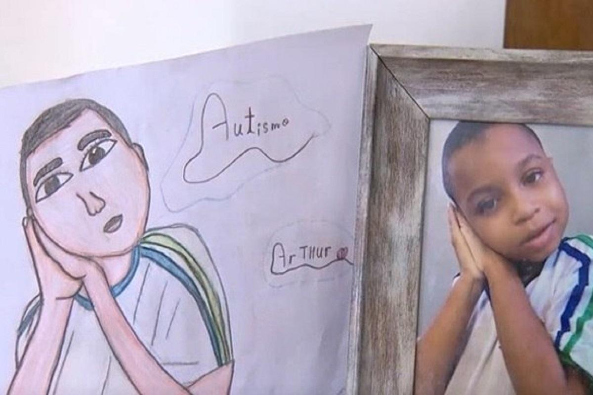 disegni per aiutare il fratello autistico