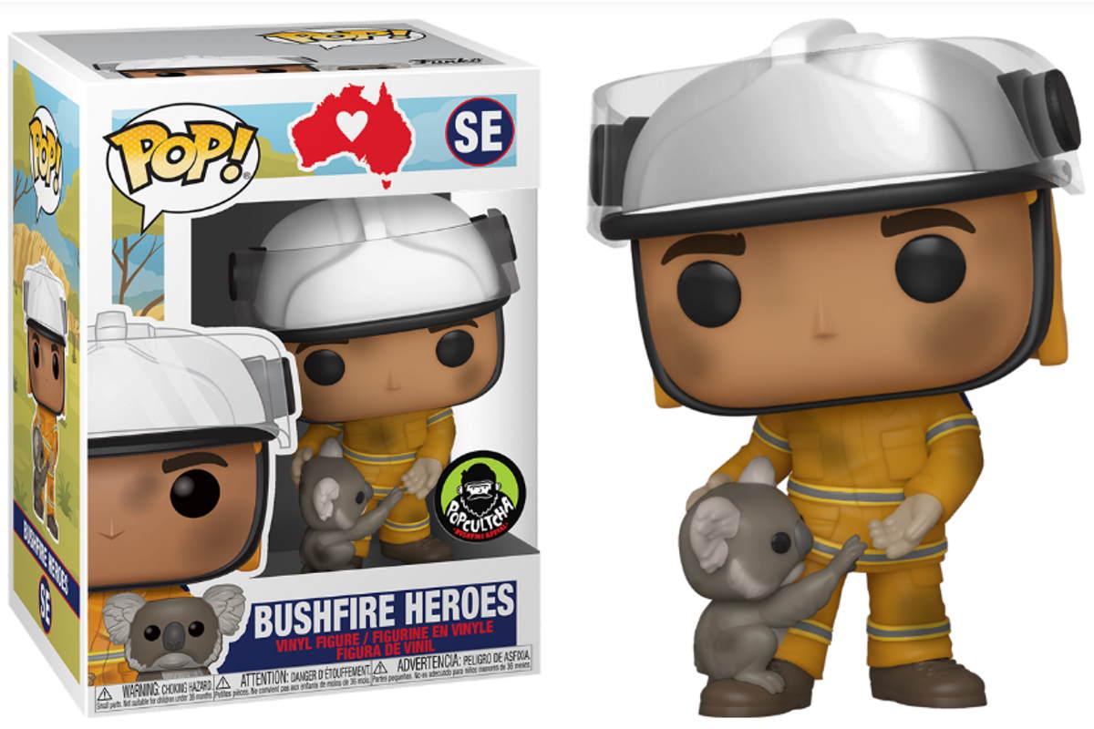 funko bushfire heroes